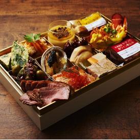 《送料無料》神戸 ビストロガニオン ワインによく合う豪華オードブル&肉料理 アワビやオマール海老・トリュフなどを豪華に使い、お肉料理等お店の味を家庭にお届け