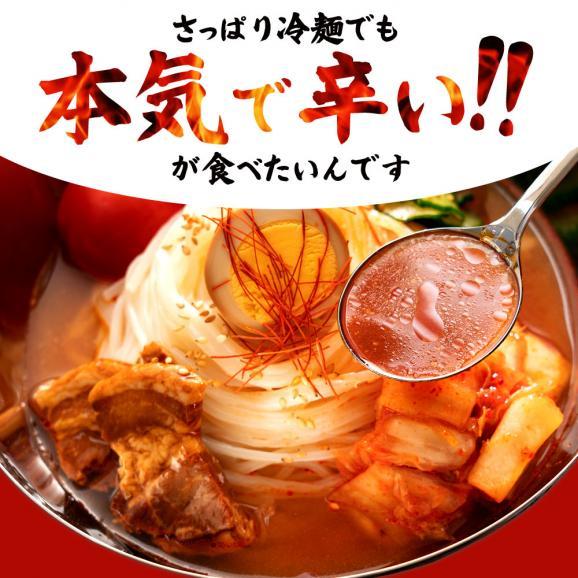 激辛 盛岡冷麺 挑戦者求む! 激辛王「トリニダード スコーピオン 冷麺 」6人前 送料無料02