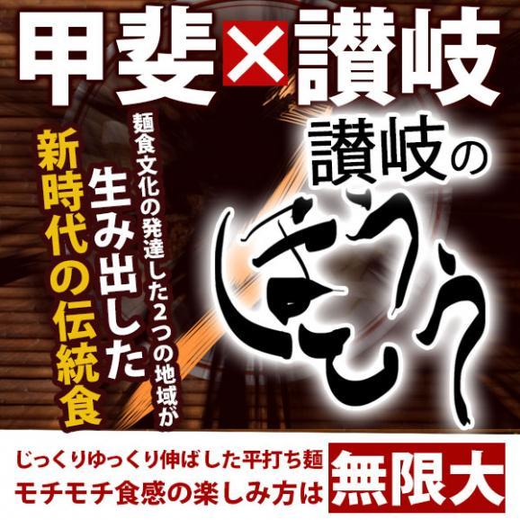 讃岐うどん 麺が本気で旨い 平打ちの生麺 ほうとう ご当地 お試し 6人前02