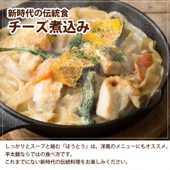 讃岐うどん 麺が本気で旨い 平打ちの生麺 ほうとう ご当地 お試し 6人前06