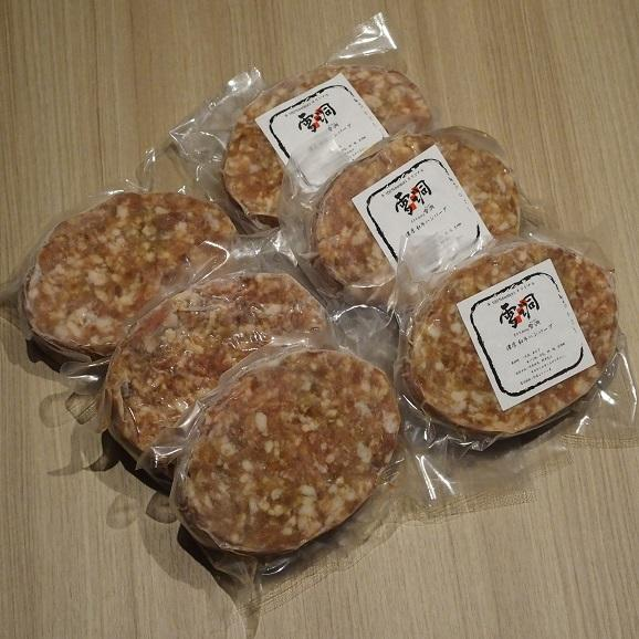 【送料無料(本州)】ミックスセット!!究極のひき肉で作る 濃厚 牛100% ハンバーク 贅沢チーズ&プレーン12個セット!(120g×6個×2種)05