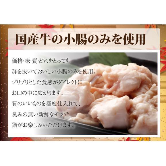 【送料別】坊'sのもつ鍋4~6人前04
