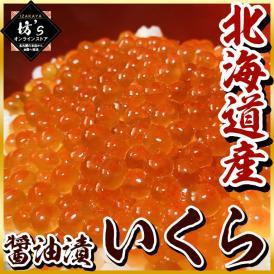 いくら 醤油漬 イクラ 北海道産 最高級品 極上 500g 化粧箱入り 鮭いくら 海鮮 魚卵 贈物 プレゼント 送料無料