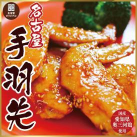 奥三河鶏の名古屋手羽先(10本×2P) ブランド鶏 奥三河 手羽先 旨い おつまみ 鶏 肉 本場の味