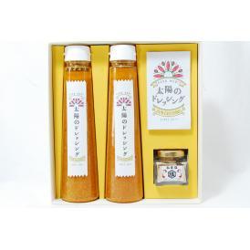 太陽のドレッシング2本と松茸塩のセット