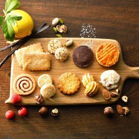 ブルターニュ クッキーアソルティ〈缶〉(47個入)【贈り物 内祝 ギフト 出産内祝 結婚御祝 贈答品】