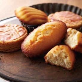 バターの豊かな風味を引き出した上質な味わい。ブルトンヌ自慢の焼き菓子を品よく詰め合わせました。