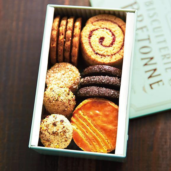 【バレンタイン】ブルターニュ クッキーアソルティ〈缶〉(23個入)[お届け期間2/3~2/14]04