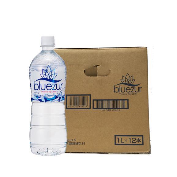 天然水bluezur(ブルージュール) 【1L x 12本】 04