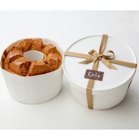 アッサム茶葉をていねいに漉したコクのあるロイヤルミルクティを混ぜたシフォンケーキ!
