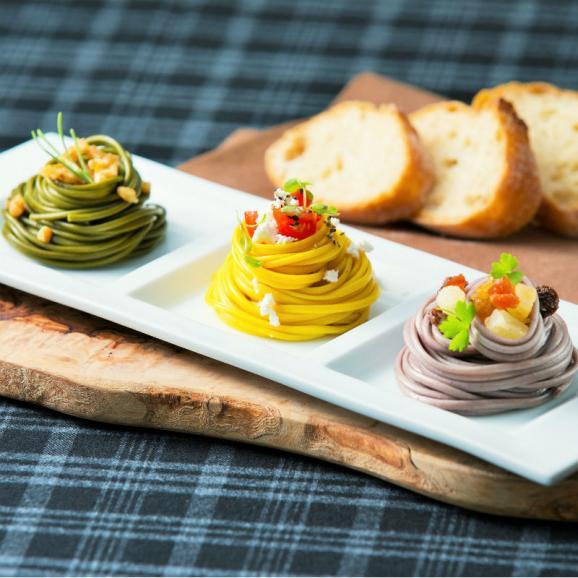 今話題のスーパーフード『マカ』と『ウコン』を練り込んだ本格手延べ麺のヘルシーパスタ02