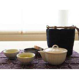 携帯できる小粋な茶器セットくつろぎながら好みのお茶で至福のひとときを