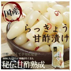 らっきょう 国産 九州産 370g 秘伝甘酢熟成