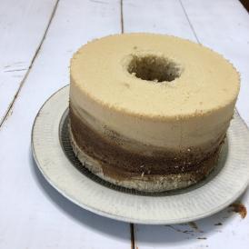 豆乳黒糖シフォンケーキ(8カット済)