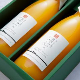 みかん ジュース 生搾り 無添加 ストレートジュース 100% 2本入 温州みかん オレンジ