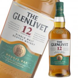 グレンリベット12年 スコッチウイスキー ダブルオーク 700ml