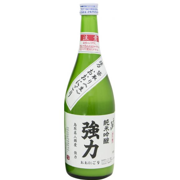 純米吟醸強力 おおにごり生(1.8ℓ)01