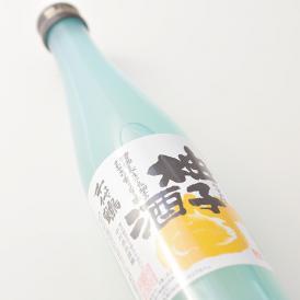清酒千代鶴をベースに、フレッシュな柚子を原料にして仕込み、製造しました。