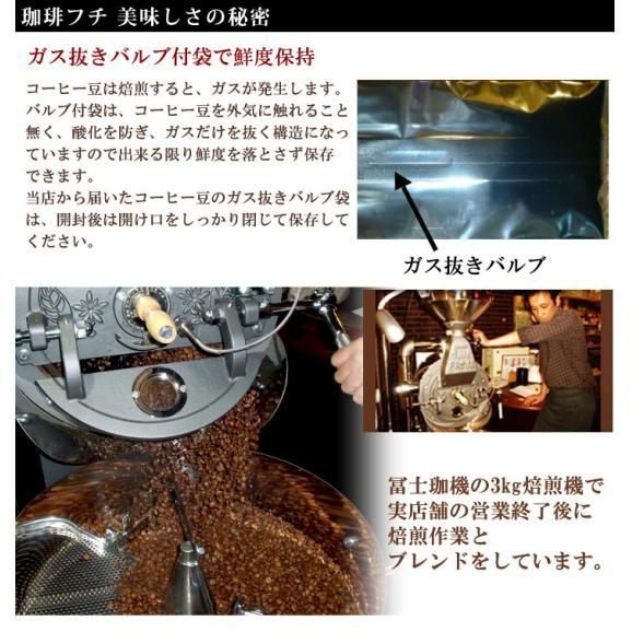 メール便 送料無料 珈琲フチ特製イタリアンブレンド300g レギュラーコーヒー コーヒー コーヒー豆 ブレンド02
