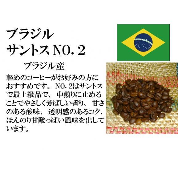 比較テイスティングセット ストレートコーヒー& ストレートコーヒー ブラジルサントスNO.2 ブラジルインペリアル トパーズ シャローン エステート 150g+150g/レギュラーコーヒー/コーヒー/02