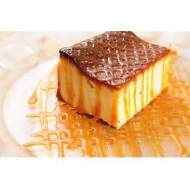 ほろ苦い生キャラメルソースと濃厚なチーズケーキが絶妙なおいしさ。ベイクドタイプのチーズケーキです。