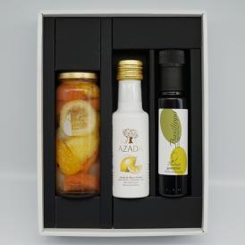 AZADA(アサーダ)オリーブオイル レモン・バシリッポグルメ・フルーツピクルス