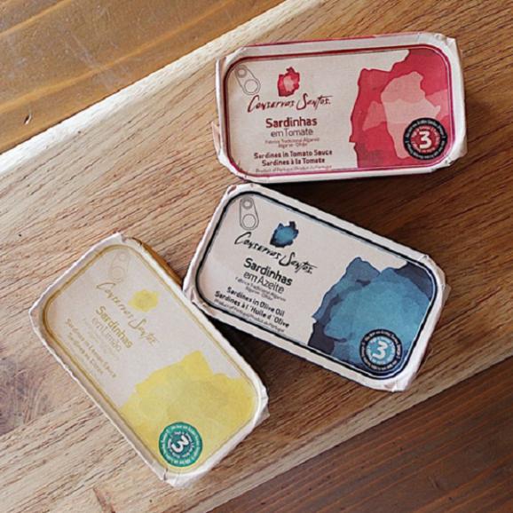 オイルサーディン3種『レモン・オリーブオイル・トマト』ギフトセット01