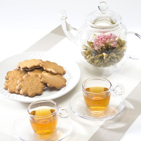 花咲くお茶 アソート缶入りギフトGreeting(クロイソス工芸茶)06