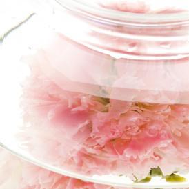 ブライダルにピッタリの花咲くお茶