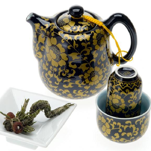 花咲くお茶 康藝銘茶(5種)桐箱セット05