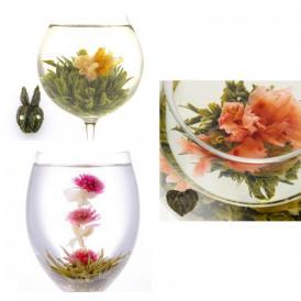 お花の咲くクロイソス工芸茶3種セット White Day缶