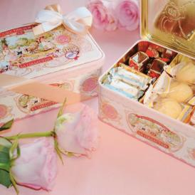人気のアソートメントにピンク缶が登場!ラ・キュール・グルマンドの人気商品5種類が入っています。