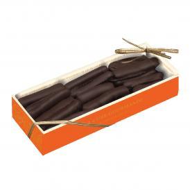 オレンジピールに上質なダークチョコレートをコーティングしたオランジェット