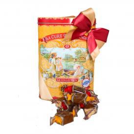 キャラメル・アソートメント(チョコレート、塩、バニラ、オレンジ)(缶の箱)