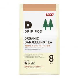 UCC DRIP POD ドリップポッド 有機栽培ダージリン紅茶 8個入