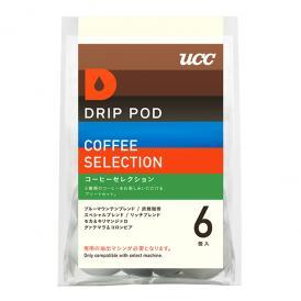 UCC DRIP POD ドリップポッド コーヒーセレクション 6個入 (コーヒー6種アソート)