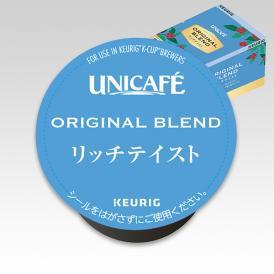 KEURIG K-Cup(キューリグ Kカップ)ユニカフェ オリジナルブレンド リッチテイスト