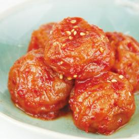 """辛さが苦手な方にもおすすめ!紀州の""""はちみつ梅""""を使用しているため、甘みと酸味と辛みの相性抜群!"""