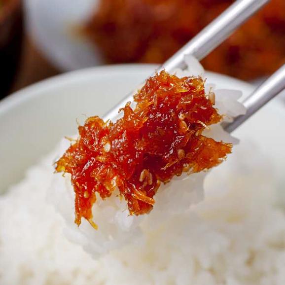 【1日20個限定】【食卓やお酒のおつまみに!干し鱈の食感と風味、甘辛コチュジャンが食欲をそそる!】*伝統の約束* 干し鱈キムチ 200g01