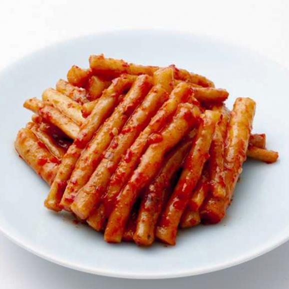 【1日20個限定】【噛めば噛むほどジュワァ〜と広がるゴボウの風味とピリ辛さが絶妙!】*伝統の約束* ごぼうキムチ 300g02