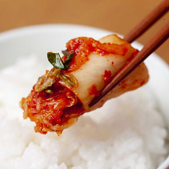【数量限定!】【人気NO.1商品】*伝統の約束* ペチュキムチ(白菜のキムチ) 500g *カット03