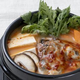 【1日20個限定】【韓国本場の味を食卓で楽しめるオモニの食卓シリーズ!】*絶品* オモニの食卓 牡蠣キムチチゲセット(1食分)