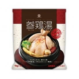 【自社製参鶏湯】レトルト参鶏湯1Kg・半身
