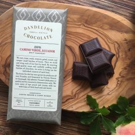 ダンデライオン・チョコレート カミーノ・ベルデ, エクアドル 85%(カカオ85%)