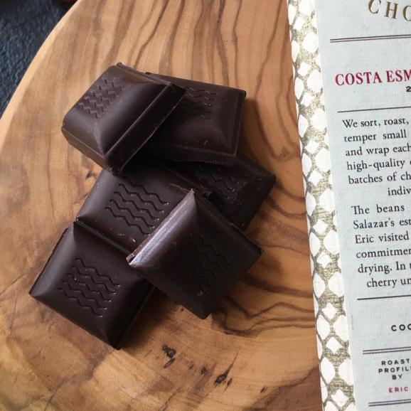 ダンデライオン・チョコレート コスタ・エスメラルダス, エクアドル 70%(カカオ70%)03