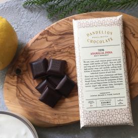 ダンデライオン・チョコレート アナマライ, インド 70%(カカオ70%)