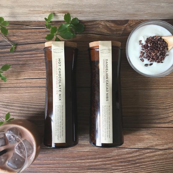ダンデライオン・チョコレート ホットチョコレートミックス&カカオニブセット01