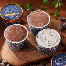 Bean to Barチョコレートの美味しさをぎゅっと閉じ込めた、アイスクリーム3種が誕生