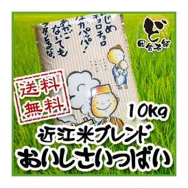 【送料無料】近江米ブレンド おいしさいっぱい 10kg