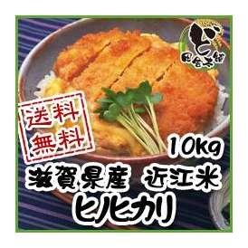 【送料無料】 28年 滋賀県産 近江米 ヒノヒカリ 10kg